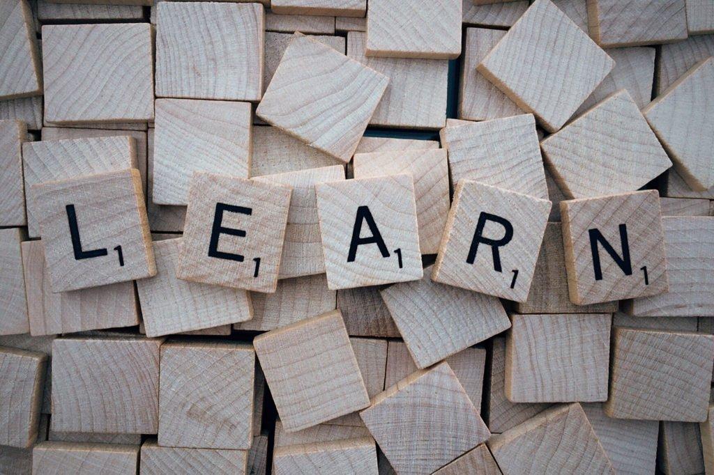 learn word scrabble letters