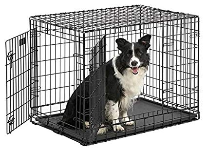 midwest ultima pro double door dog crate 48""