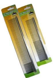 metal brushing comb