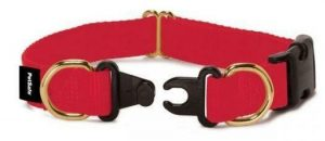 red break away collar