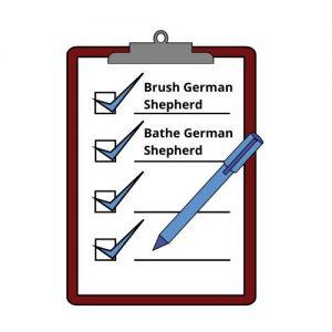 german shepherd brushing benefits
