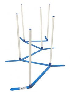 weave poles for speed