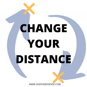 change your distance during training commands for your German Shepherd