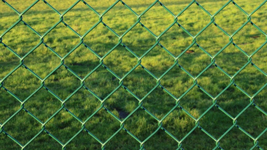 block your dog's view from the fence