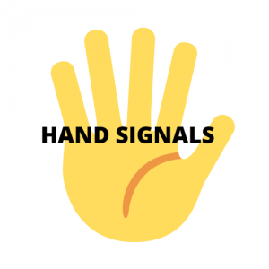 german shepherd hand signals for command training