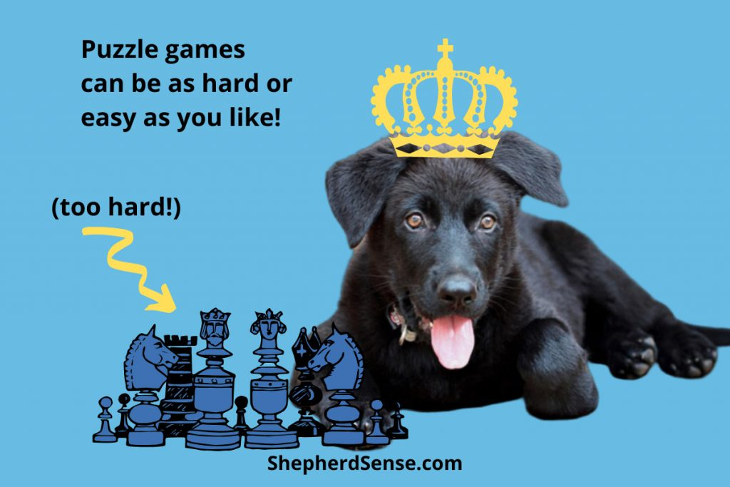 puzzle games for german shepherd