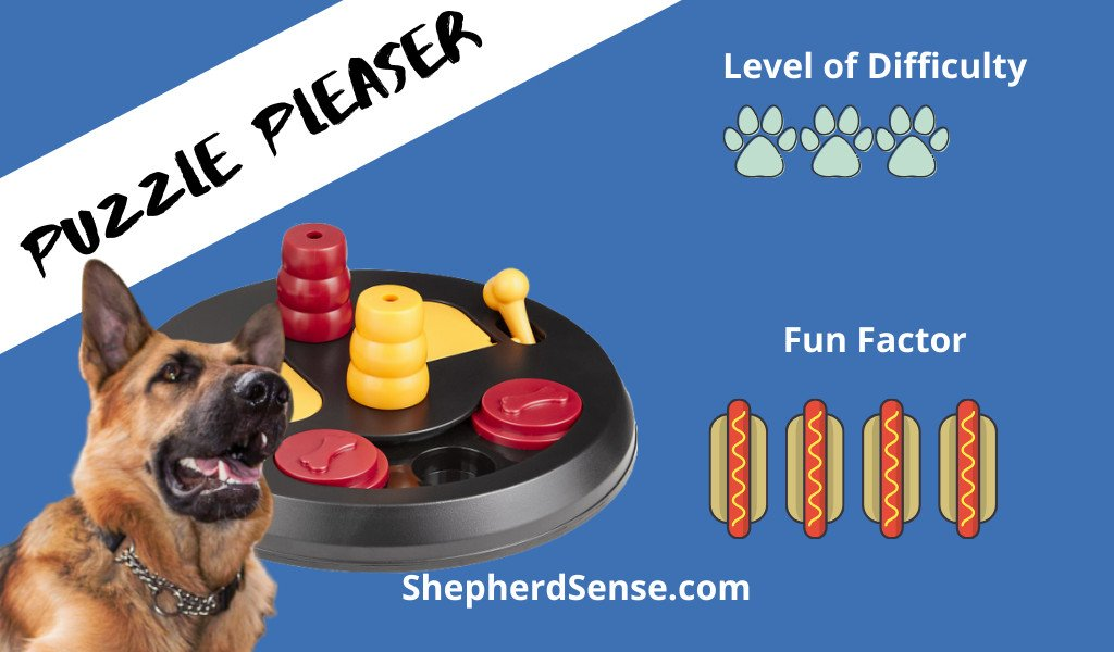 puzzle pleaser games with german shepherd