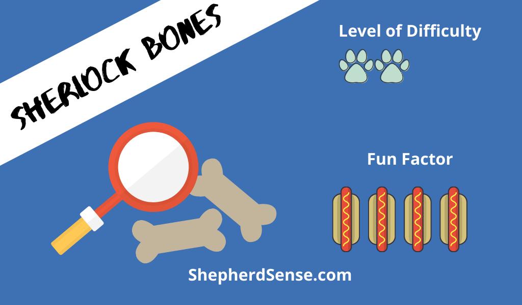 Sherlock Bones dog game