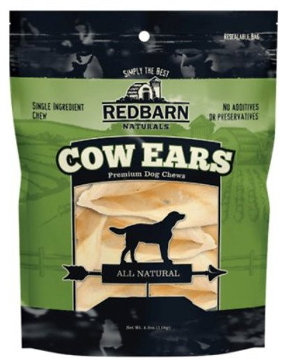 redbarn cow ears premium dog chews all natural
