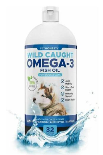 pethonesty wild-caught fish oil supplement