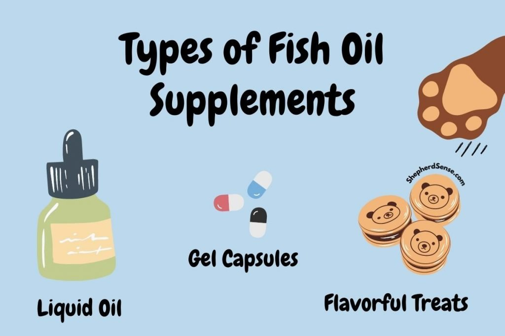 types of fish oil supplements for german shepherds