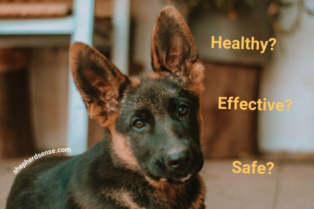 is crate training a german shepherd puppy effective