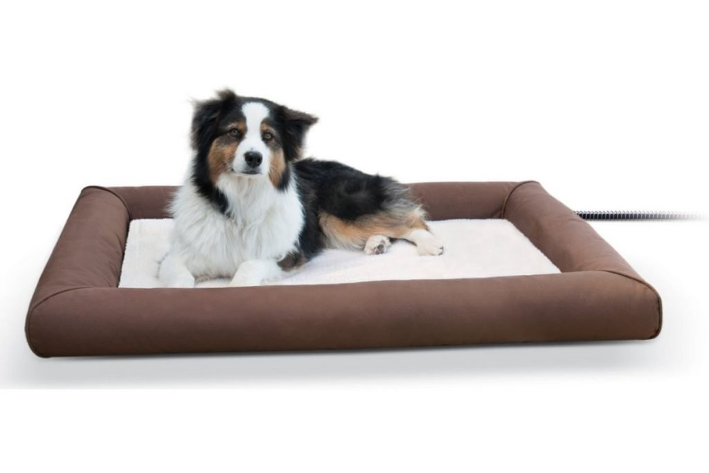 heated dog bed for gsd